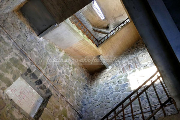 Im Inneren des Turms