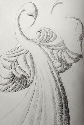 Entwurf zu »Eitelkeit«