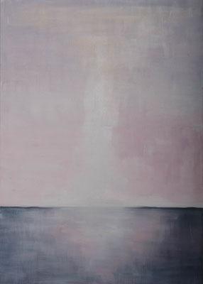 »Rosa 4«  Öl/Leinwand  50 x 70 cm