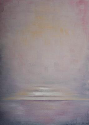 »Rosa 3«  Öl/Leinwand  50 x 70 cm