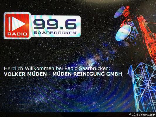Blog, Radio Saarbrücken, Volker Müden Herzlich Willkommen im Studio