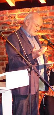 Dieter Dresen bei der Einführung