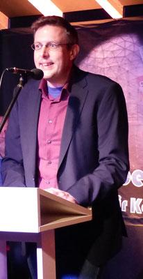 Stefan Krüger bei seinem Vortrag
