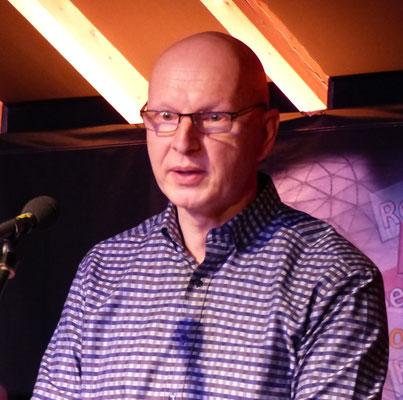 Stefan Pölt bei seinem Vortrag
