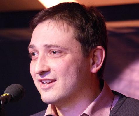 Frank Dyczka bei seinem Vortrag