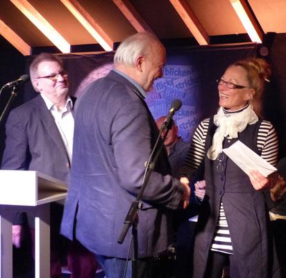 Monika Clever gewinnt den zweiten Publikumspreis