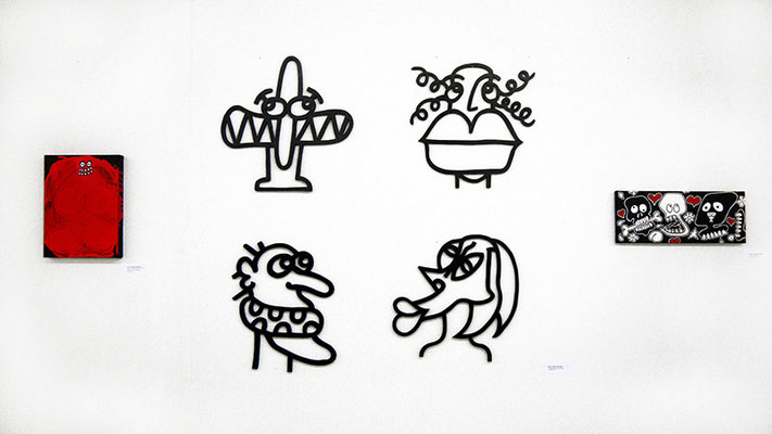 "WOLFGANG FREUND, ""WOODCUT OBJECTS"""