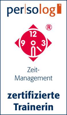 Zertifikat Persolog Zeitmanagementmodell