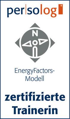 Zertifikat Persolog EnergyFactors