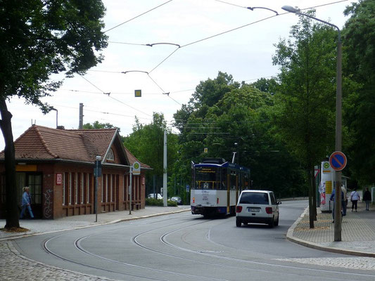 Linie 2 Bahnhof Südausgang