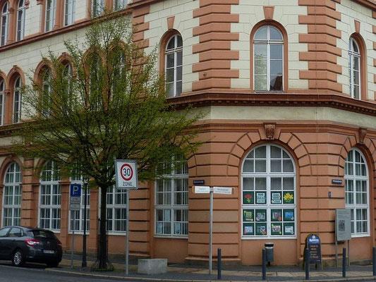 Oberleitungsrosette Klosterplatz