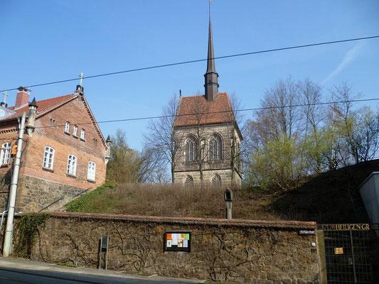 Doppelkapelle zum Heilgen Kreuz (oben Golgathakapelle, unten Adamskapelle