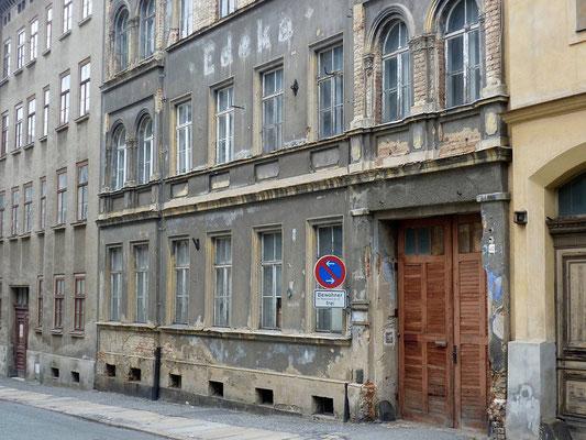 Oberleitungsrosette Leipziger Str. 40