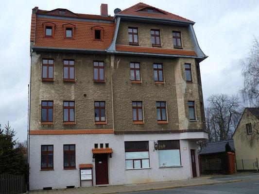 Oberleitungsrosette Reichenbacher Str. 134 Endstation