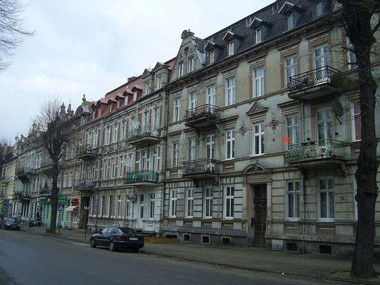 Oberleitungsrosette damalige Victoriastr. (1905 Sonderstrecke Weltausstellung Friedrichsplatz)