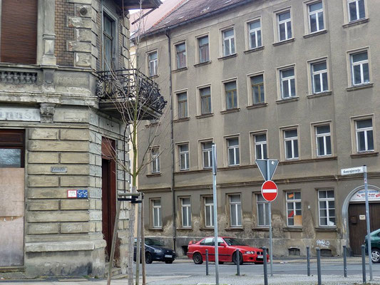 Oberleitungsrosette Bahnhofstr. Ecke Konsulstr.