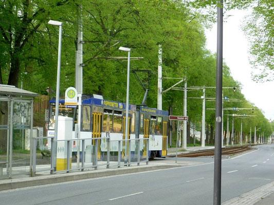 Linie 2 Geschwister-Scholl-Straße
