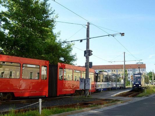 Linie 1 Endhaltestelle Weinhübel