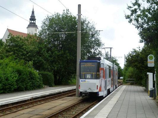 Linie 2 Endstation Königshufen/Am Wiesengrund