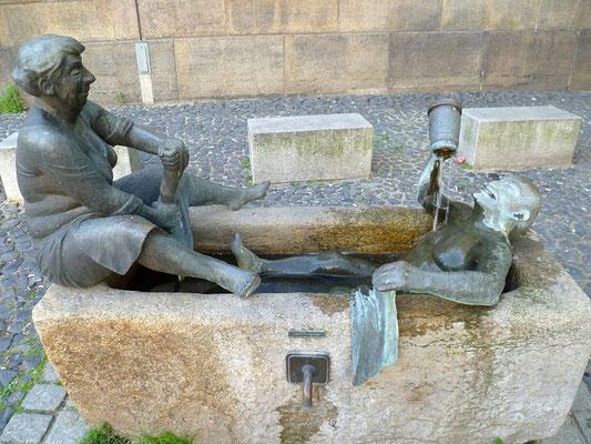 """""""Zecherpaar"""" Klosterplatz"""