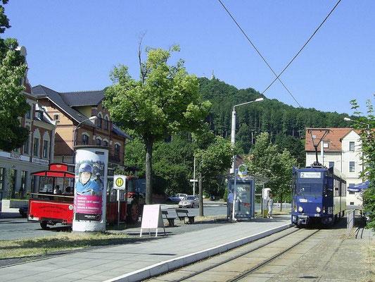 Linie 2 Endhaltestelle Biesnitz/Landeskrone