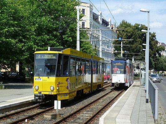 Linie 2 Büchtemannstraße