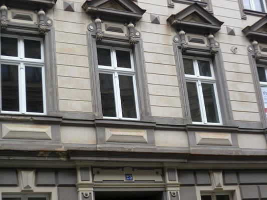 Oberleitungsrosette Leipziger Str. 25
