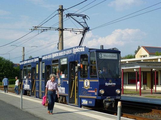 Linie 1 Weinhübel-Mitte