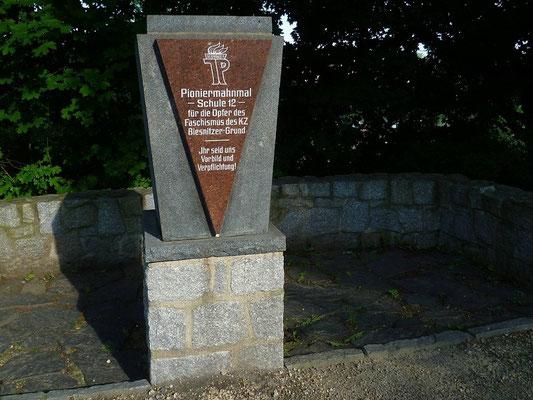 Pionierehrenmal im Gedenken an die Opfer des KZ-Außenlagers Görlitz (1959) Fröbelstr.