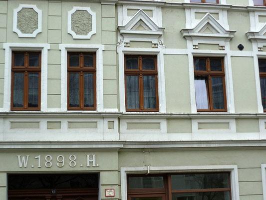 Oberleitungsrosette Heilige-Grab-Straße 68