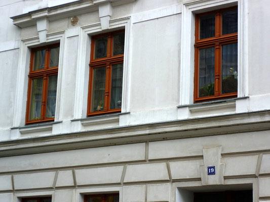 Oberleitungsrosette Rauschwalder Straße 19