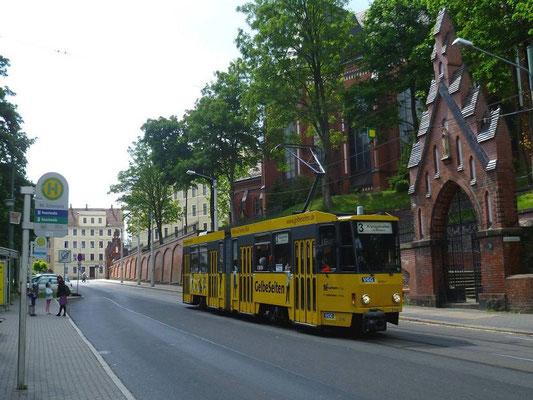 Linie 1 Bahnhof Südausgang