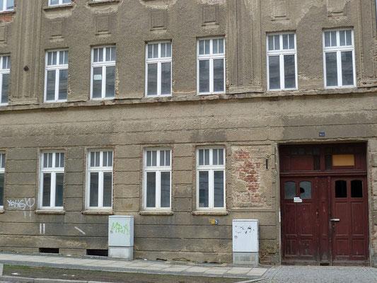 Oberleitungsrosette Rauschwalder Straße 61