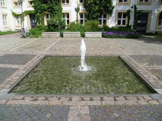 Springbrunnen im Vogtshof