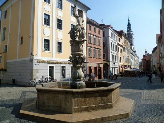 Georgsbrunnen Obermarkt (ältester Görlitzer Brunnen von 1590)