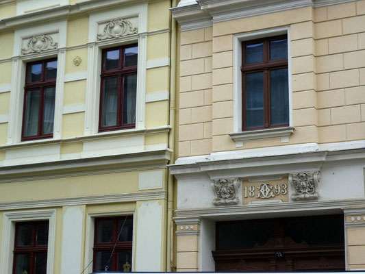 Oberleitungsrosette Heilige-Grab-Straße 73