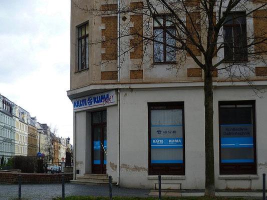 Oberleitungsrosette Bahnhofstr. Ecke Augustastr.
