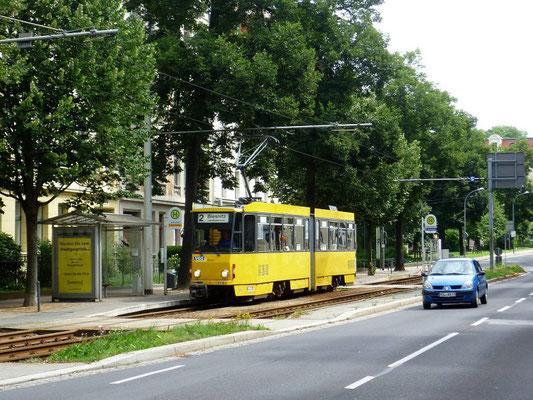 Linie 2 Lutherstraße