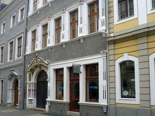 Oberleitungsrosette Brüderstraße 12