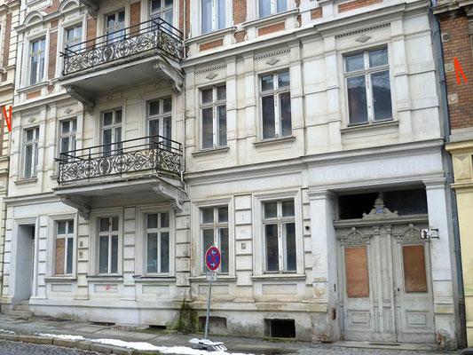 Oberleitungsrosette Leipziger Straße 19+20