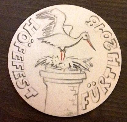 Storchennest, Fürther Höfefest 2018, Minikunst to Go