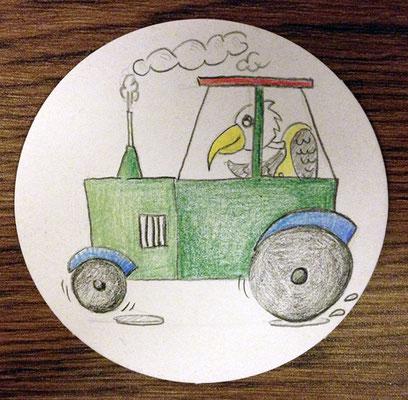 Traktor, Fürther Höfefest 2018, Minikunst to Go