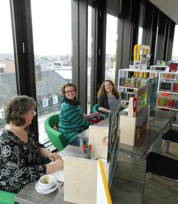Susanne Scharff, Therese Hein, Carola Giese (v.l.n.r.)