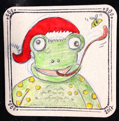 Frosch, Minikunst to Go Altstadt Weihnachtsmarkt Fürth 2017
