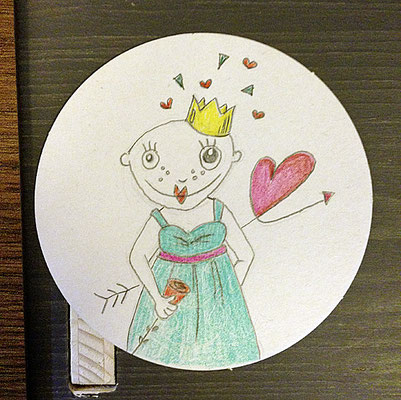 Prinzessin, Fürther Höfefest 2018, Minikunst to Go
