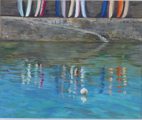 131-séries reflets nr 16 - 8F (38x46 cm) - Öl