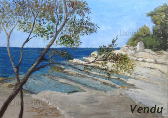 VENDU - Porec (Croatie) - taille du tableau: 50x61cm