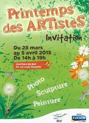 Printemps des Artistes du 28 mars au 5 avril 2015