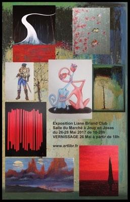 """Exposition """"Atelier Liane Briand Club"""" à Jouy-en-Josas"""