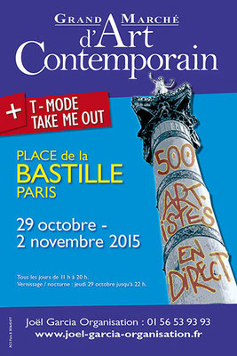 Salon Art Contemporain et Moderne BASTILLE, 29 octobre/2 novembre 2015